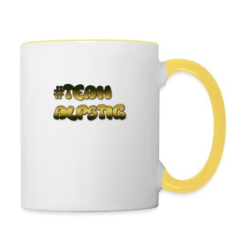 #TEAMALPSTIG3 - Tvåfärgad mugg
