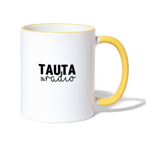 Radio Tauta Logo [Black] - Contrasting Mug