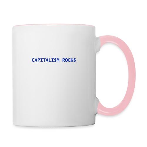 CAPITALISM ROCKS - Tazze bicolor