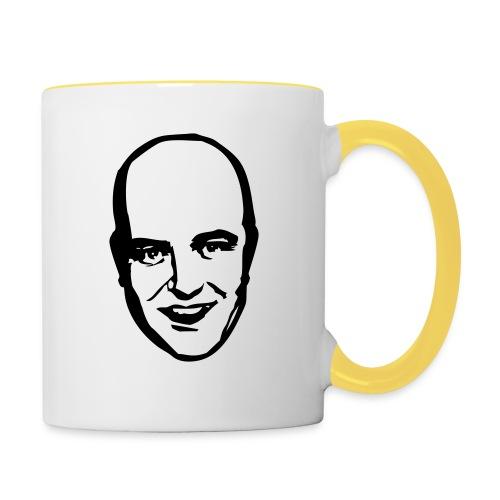 Fredrik Reinfeldt - Tvåfärgad mugg