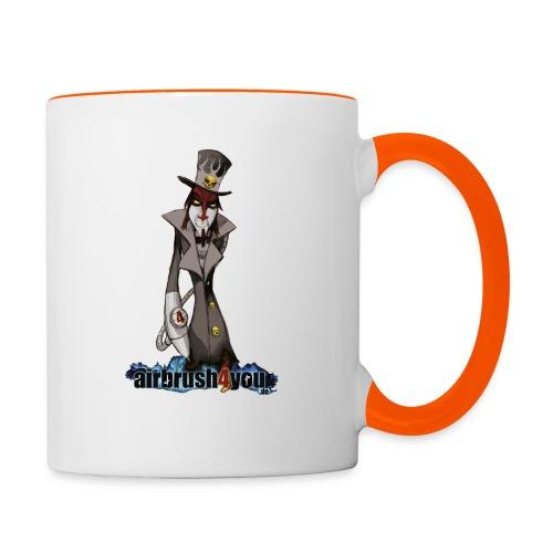 AirbrushDealer - Tasse zweifarbig