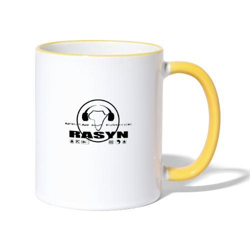 RASYN Peace Africa ® - Tasse zweifarbig