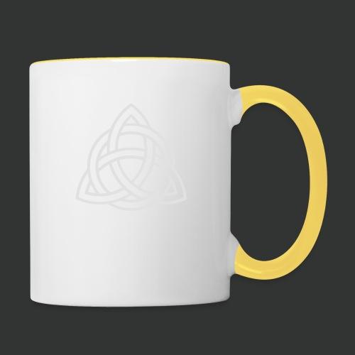 Celtic Knot — Celtic Circle - Contrasting Mug