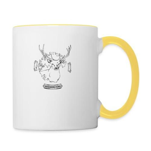Cervo - Wandering Horn - Tazze bicolor