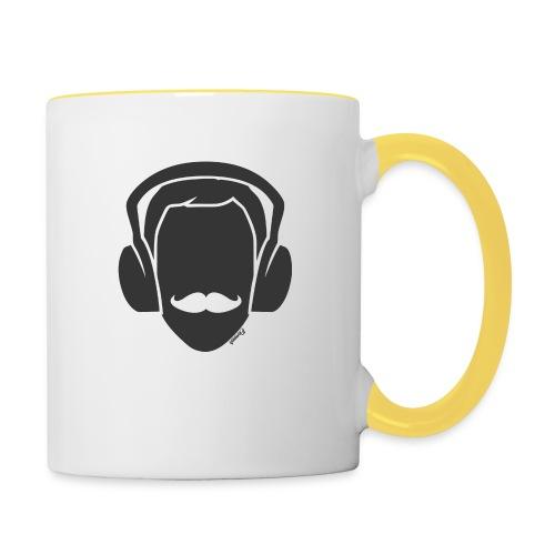 Moustachu Song (H) - Mug contrasté