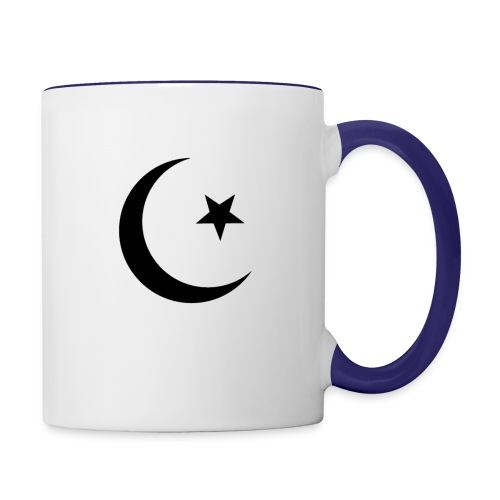 islam-logo - Contrasting Mug