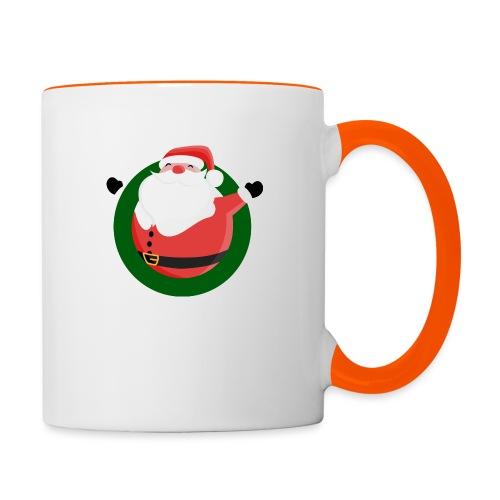 Dagar Till Jul - Tvåfärgad mugg