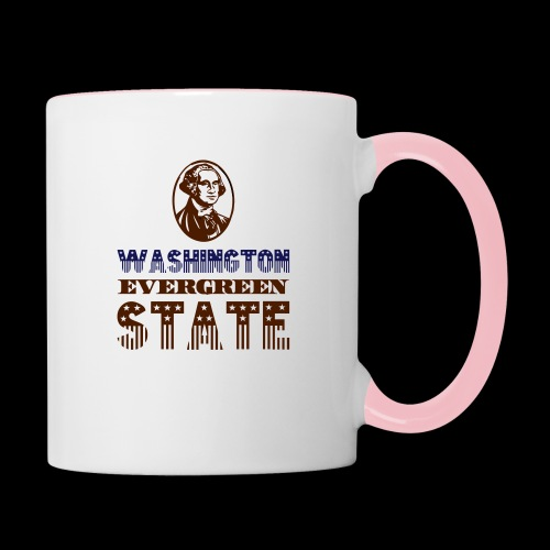 WASHINGTON EVERGREEN STATE - Contrasting Mug