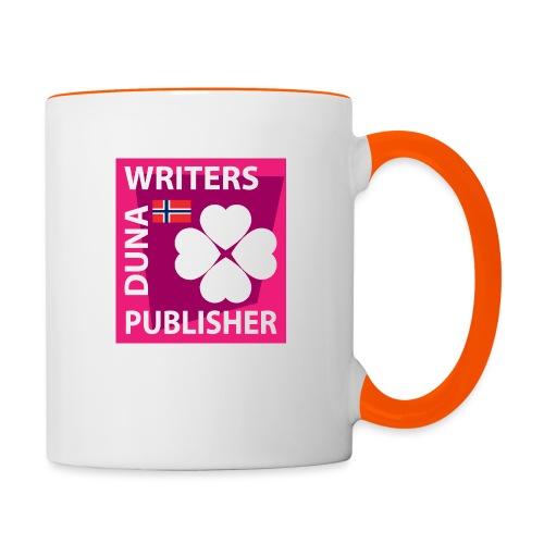 Duna Writers Publisher Pink - Tofarget kopp