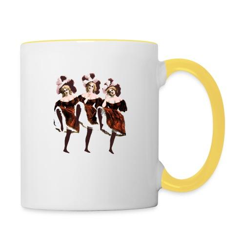 Vintage Dancers - Contrasting Mug