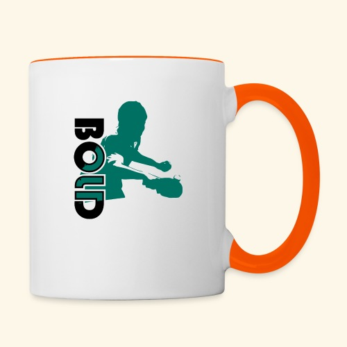 BOLD, table tennis championship ideal gift - Tasse zweifarbig