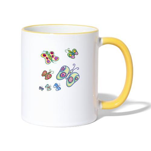 Allegria di farfalle - Tazze bicolor