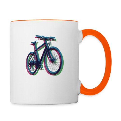 Bike Fahrrad bicycle Outdoor Fun Mountainbike - Contrasting Mug