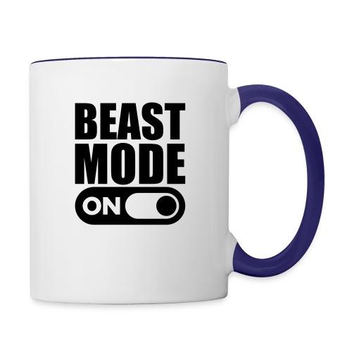 BEAST MODE ON - Contrasting Mug