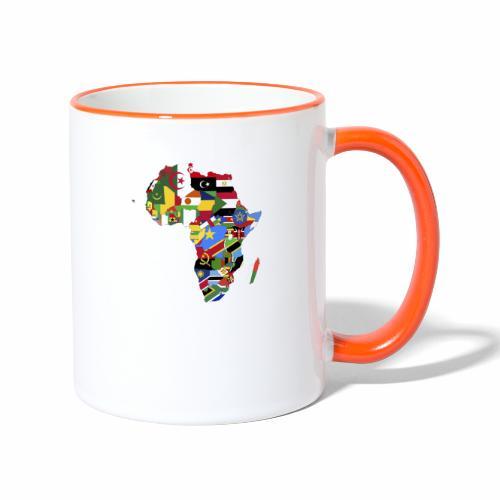 African unity - Mug contrasté