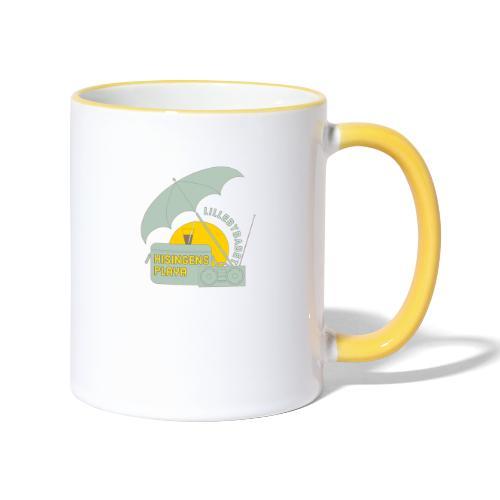 Playa green - Tvåfärgad mugg