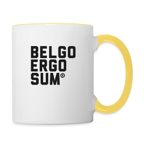 Belgo Ergo Sum - Contrasting Mug