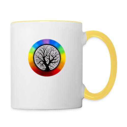 tree of life png - Mok tweekleurig