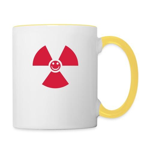 Atom! - Tvåfärgad mugg
