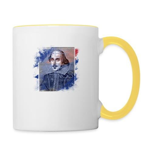 Shakespeare - Tasse zweifarbig