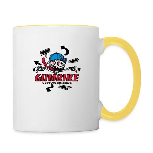 gumbike-monster - Mug contrasté