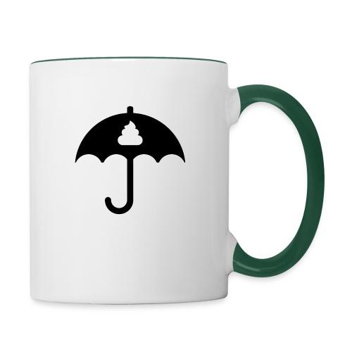 Shit icon Black png - Contrasting Mug