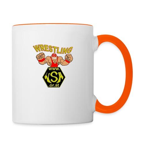 wsa logo - Tasse zweifarbig