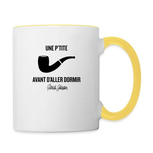 Une p'tite pipe - Mug contrasté