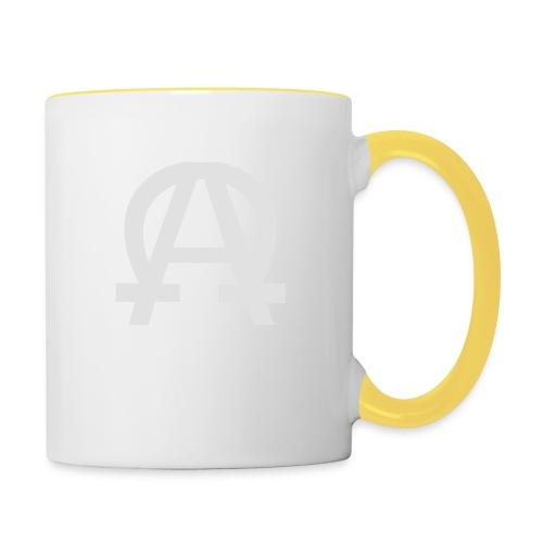 alpha-oméga - Mug contrasté