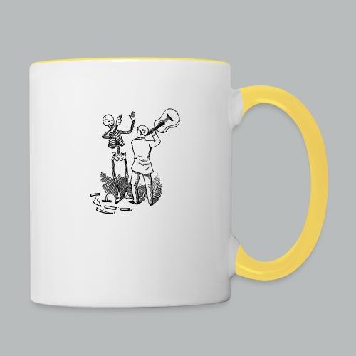 DFBM unbranded black - Contrasting Mug