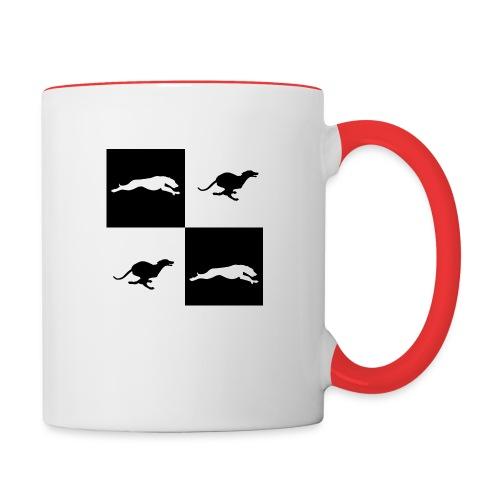whippetsquares2 png - Contrasting Mug