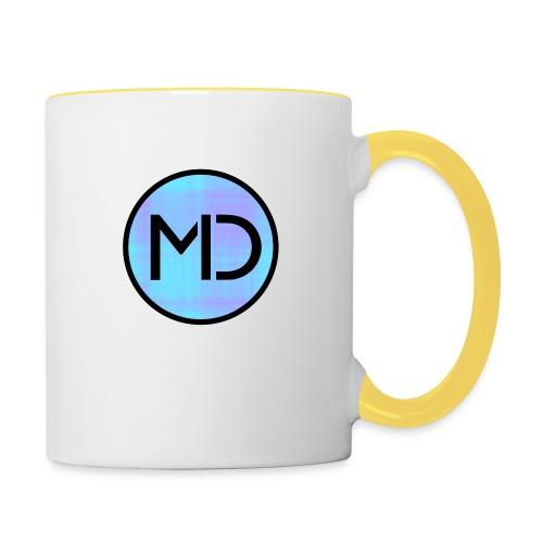 MD Blue Fibre Trans - Contrasting Mug