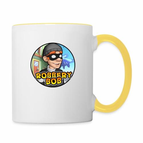 Robbery Bob Button - Contrasting Mug