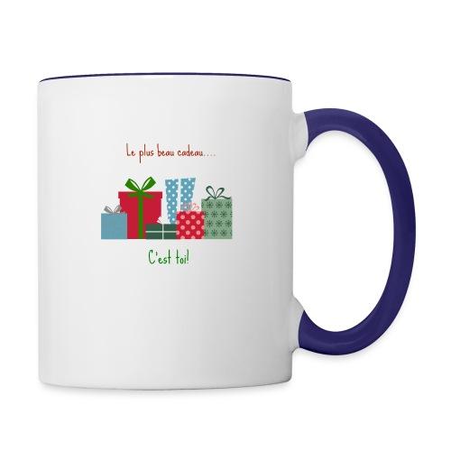 Le plus beau cadeau - Mug contrasté