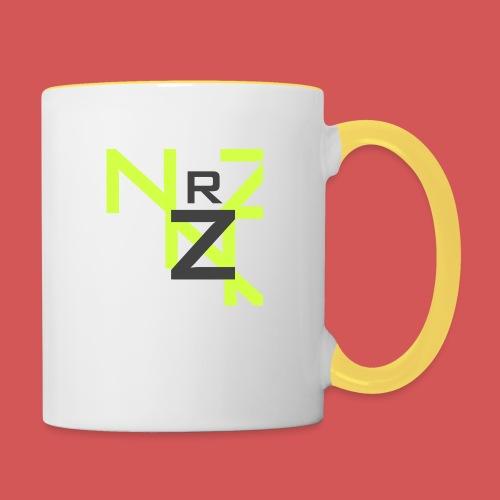 Nörthstat Group™ Clear Transparent Main Logo - Contrasting Mug