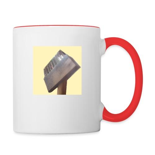 Klausens Unkrautbürste - Tasse zweifarbig