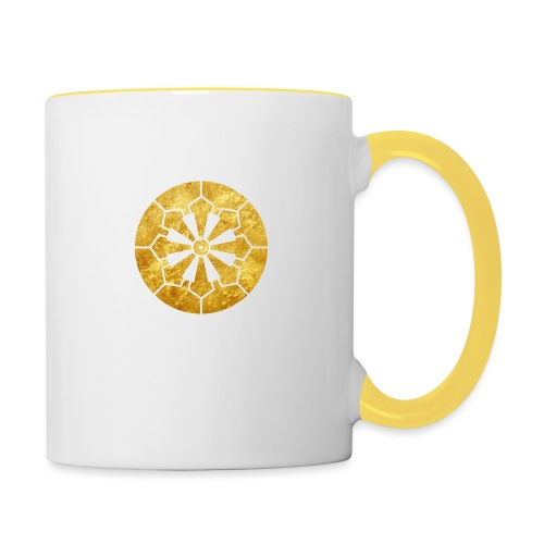 Sanja Matsuri Komagata mon gold - Contrasting Mug