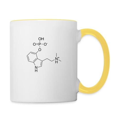 Psilocybin_chemical_structure-png - Tvåfärgad mugg