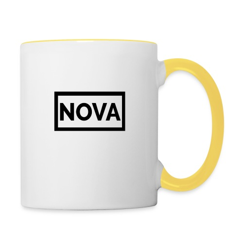 Red Nova Snapback - Contrasting Mug