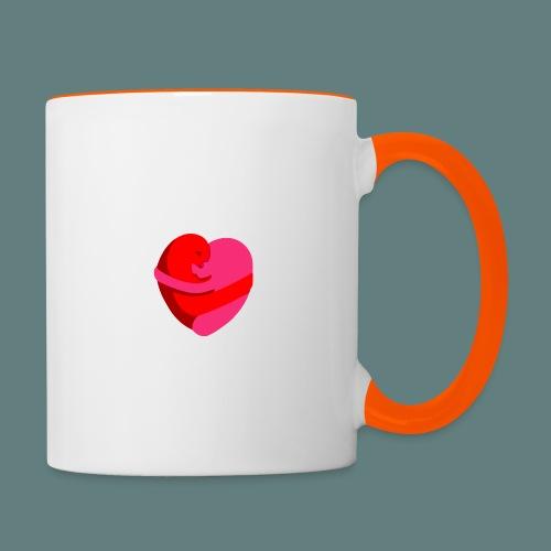 hearts hug - Tazze bicolor