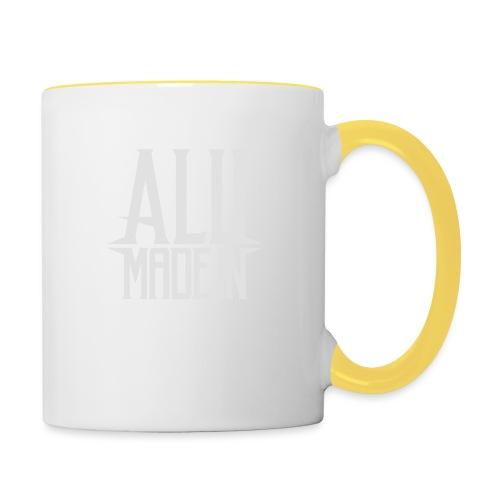 logo_alumadein_vecto_blan - Mug contrasté