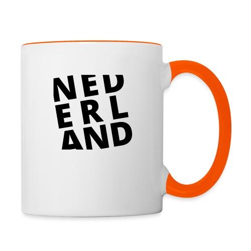 Nederland - Mok tweekleurig