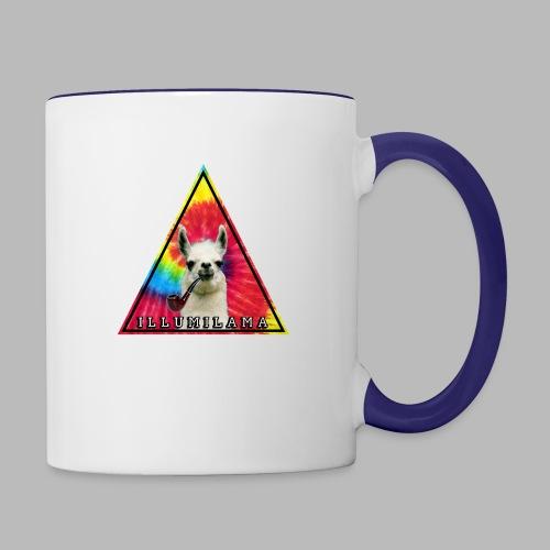 Illumilama logo T-shirt - Contrasting Mug