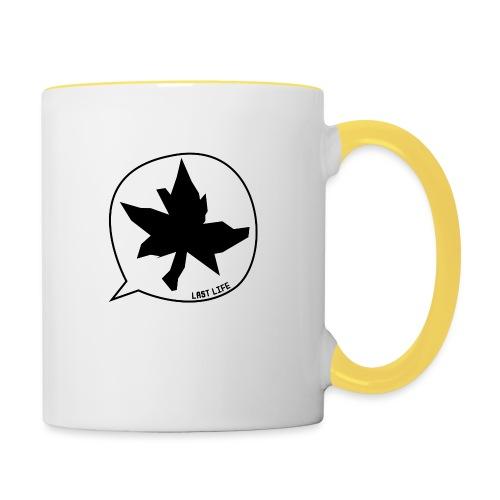 Speech Bubble Last Life - Contrasting Mug