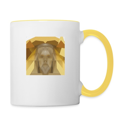 In awe of Jesus - Contrasting Mug
