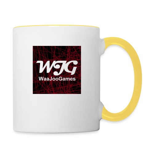 T-shirt WJG logo - Mok tweekleurig