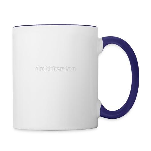 dubiterian1 gif - Contrasting Mug