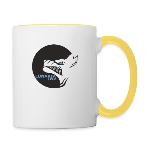 Lunaria_Logo tete pleine - Mug contrasté