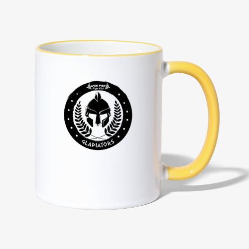 Gym Pur Gladiators Logo - Contrasting Mug
