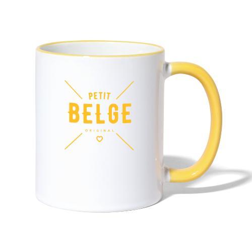 petit belge original - Mug contrasté